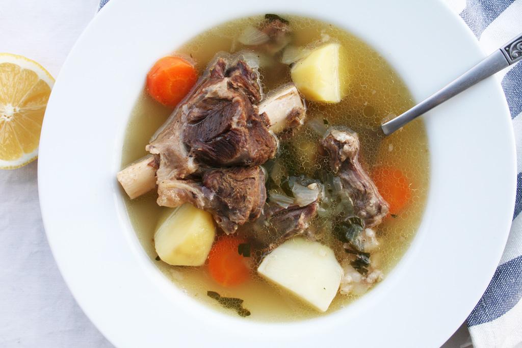 sop kambing