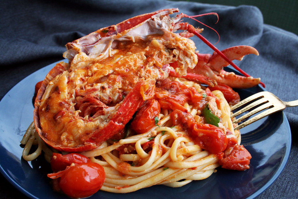 Spicy Lobster Linguine The Glutton Life